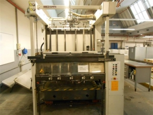 STEUER PZ104 AUTOMATIC HOT FOIL STAMPING CYLINDER
