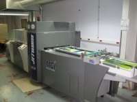 2012, MGI JET VARNISH 2D DIGITAL INK JET SPOT UV COATER (8514)