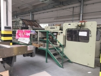 1996, TUNKERS 1400 DBE FULLY AUTOMATIC BOARD LAMINATOR (8600)