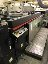 2012 RECONDITIONED, SPS VITESSA STAR G2 AUTOMATIC SPOT COATER (8707)