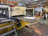 1995, BOBST SP126 BMA FOIL STAMPING MACHINE (8789)