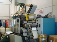 2004, SIAT LPM33-220 4 COLOUR FLEXOGRAPHIC LABEL PRESS (8638)